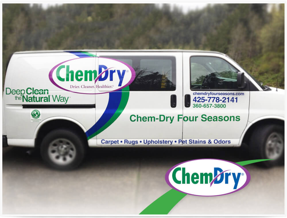 Chem-Dry Four Seasons van in Edmonds