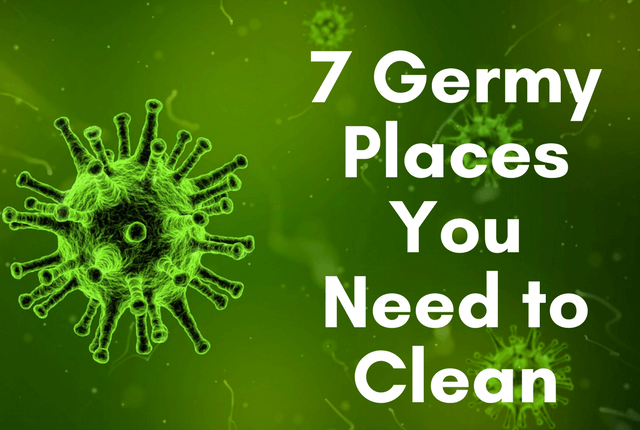 7 Germ & Allergen Hotspots You Need to Clean