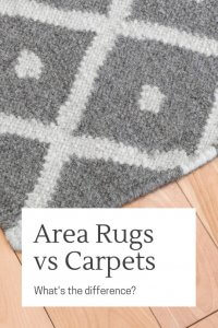 Area Rugs vs Carpets what's the difference in cleaning